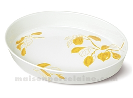 PLAT OVALE SABOT EXTRA CULINAIRE 37X27