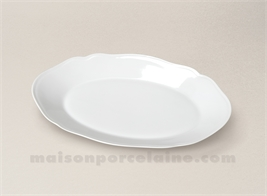 RAVIER LIMOGES PORCELAINE BLANCHE COLBERT 24X17