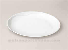 RAVIER PORCELAINE BLANCHE GALA 24X17