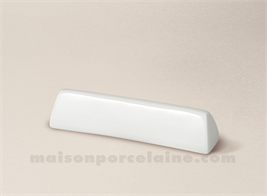 REPOSE COUTEAU PORCELAINE BLANCHE LIMOGES TRIANGLE 9X2