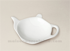 REPOSE SACHET THE PORCELAINE BLANCHE THEIERE 11X8