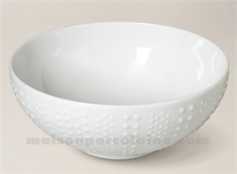 SALADIER PATE EXTRA BLANCHE LIMOGES SANIA 23X9.5