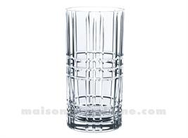 SQUARE - LONGDRINK 44,5CL H15,1CM - COF/4CRISTALIN)CRISTALIN)CRISTALIN)