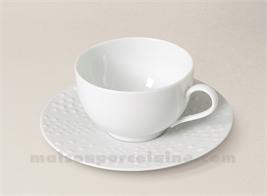 TASSE CAFE+SCPE PATE EXTRA BLANCHE LIMOGES SANIA 10CL VENANT) VENANT) VENANT)
