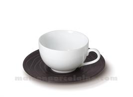 TASSE CAFE+SOUCOUPE GRES MEDARD DE NOBLAT ESCALE 12CL