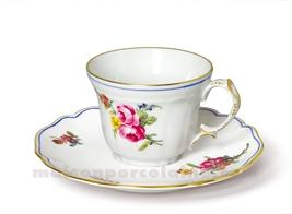 TASSE CAFE+SOUCOUPE LIMOGES CHOISEUL 11CL