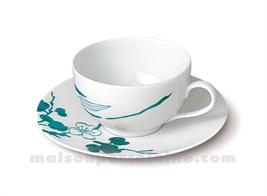 TASSE CAFE+SOUCOUPE LIMOGES ENVIE 14CL