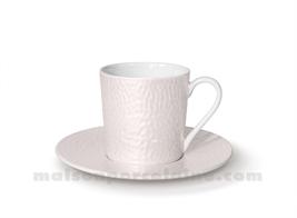 TASSE CAFE+SOUCOUPE REVES D'OPALINE 5X7 9CL -  NOISETTE