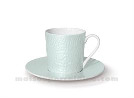TASSE CAFE+SOUCOUPE REVES D'OPALINE 5X7 9CL - AMANDE