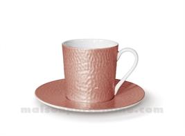 TASSE CAFE+SOUCOUPE REVES D'OPALINE 5X7 9CL - CAPUCINE