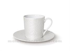 TASSE CAFE+SOUCOUPE REVES D'OPALINE 5X7 9CL - Perle