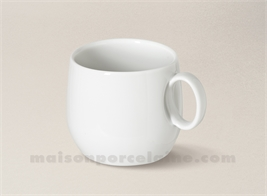 TASSE CAFE/THE PORCELAINE BLANCHE YAKA 20CL