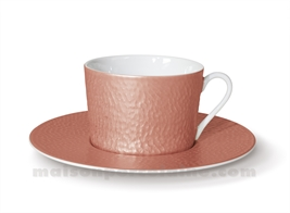 TASSE THE+SOUCOUPE REVES D'OPALINE 8.5X8 20CL - CAPUCINE