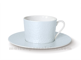 TASSE THE+SOUCOUPE REVES D'OPALINE 8.5X8 20CL - CURACAO
