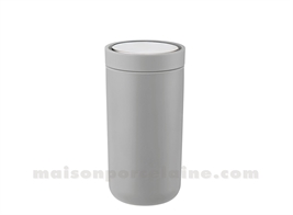TO GO CLICK MUG ISOTHERME INOX 0.2 L. - GRIS CLAIR