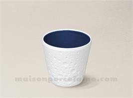 VERRE CAFE BISCUIT PORCELAINE DE LIMOGES 15CL