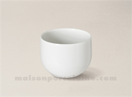 VERRE EXPRESSO PORCELAINE BLANCHE YAKA 9CL