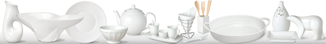 Plain White Porcelain