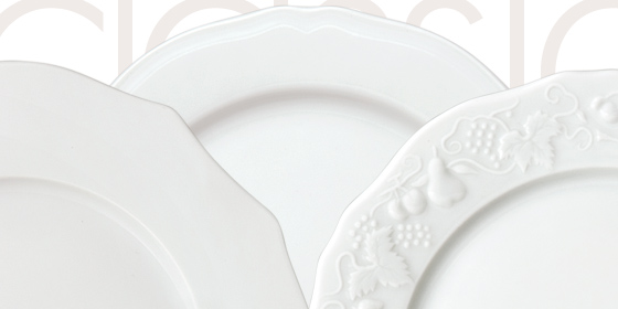 Assiette Classique Service de Table