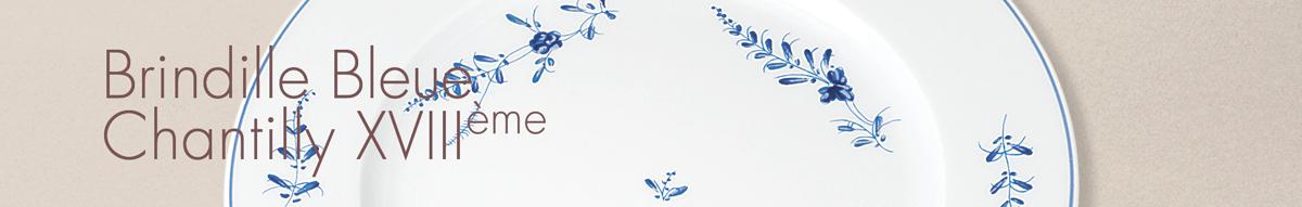 Brindille Bleue Chantilly XVIIIème