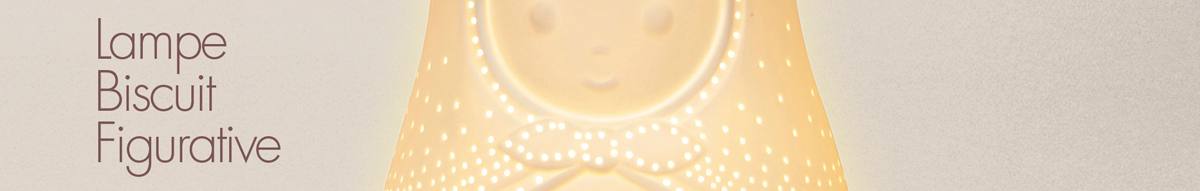 Lampe Biscuit Figuratives