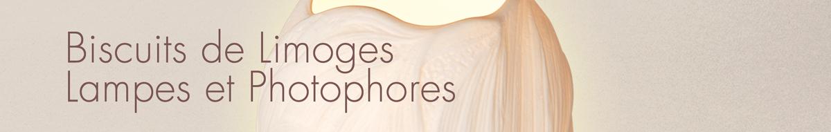 Biscuits de Limoges, Lampes et Photophores