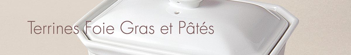 Terrines Foie Gras et Pâtés
